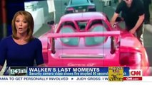 Paul Walker Car Crash NEW VIDEO - death scene Porsche GT crash on fire Caught on camera!