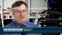 Deadly CRASH car VS truck - crash test IIHS