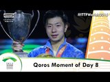 Qoros 2015 World Table Tennis Championships Moment of the Day 8 presented by Qoros