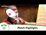 WTTC 2015 Highlights: TRIGOLOS Daria vs GULIYEVA Rufat (Qual Groups)