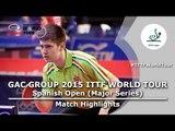 Spanish Open 2015 Highlights: KONECNY Tomas vs SZITA Marton (Qual Groups)