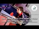 Spanish Open 2015 Highlights: LEITGEB Stefan vs SKUCAS Matas (Qual Groups)