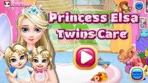 Congelados Elsa Gemelos Cuidado del Bebé de Disney Frozen la Película de dibujos animados de Juego para Niños