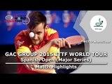 Spanish Open 2015 Highlights: DEVOS Robin vs RODRIGUEZ Jesus (Qual Groups)