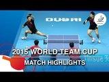 2015 World Team Cup Highlights: XU Xin/FAN Zhendong vs HUANG Sheng-Sheng/CHIANG Hung-Chieh (1/2)
