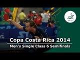Copa Costa Rica 2014 GER Rau Thomas vs SWE Azulay Michael 1st 1/2