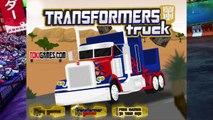 Transformer   Mesh Truck   Cutter Truck   Garbage Disposer Vehicle For Kids   Cartoons Vid