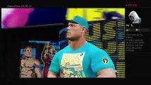 John Cenavs Randy ORTON vs triple h and The big Show Wwe championship  Raw full match (62)