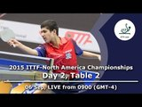 2015 ITTF-North America Championships - Day 2, Table 2