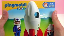 Playmobil Rakete mit Spring- Boost 6187 - Ab ins Weltall - Unboxing!