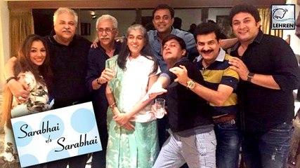 Sarabhai V/s Sarabhai Goes On The Floor | Ratna Pathak