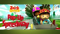 Zack & Quack Game Video - Zack and Quack Pop Up Speedway Episode - NickJr Nickelodeon Game