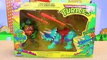 Teenage Mutant Ninja Turtles Metalhead Builds Robo Raptor Eating Pizza with T-Rex Dinosaur