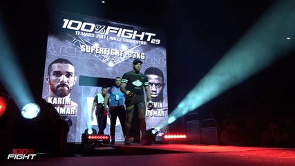 100%FIGHT 29 - HIGHLIGHTS carte prelims