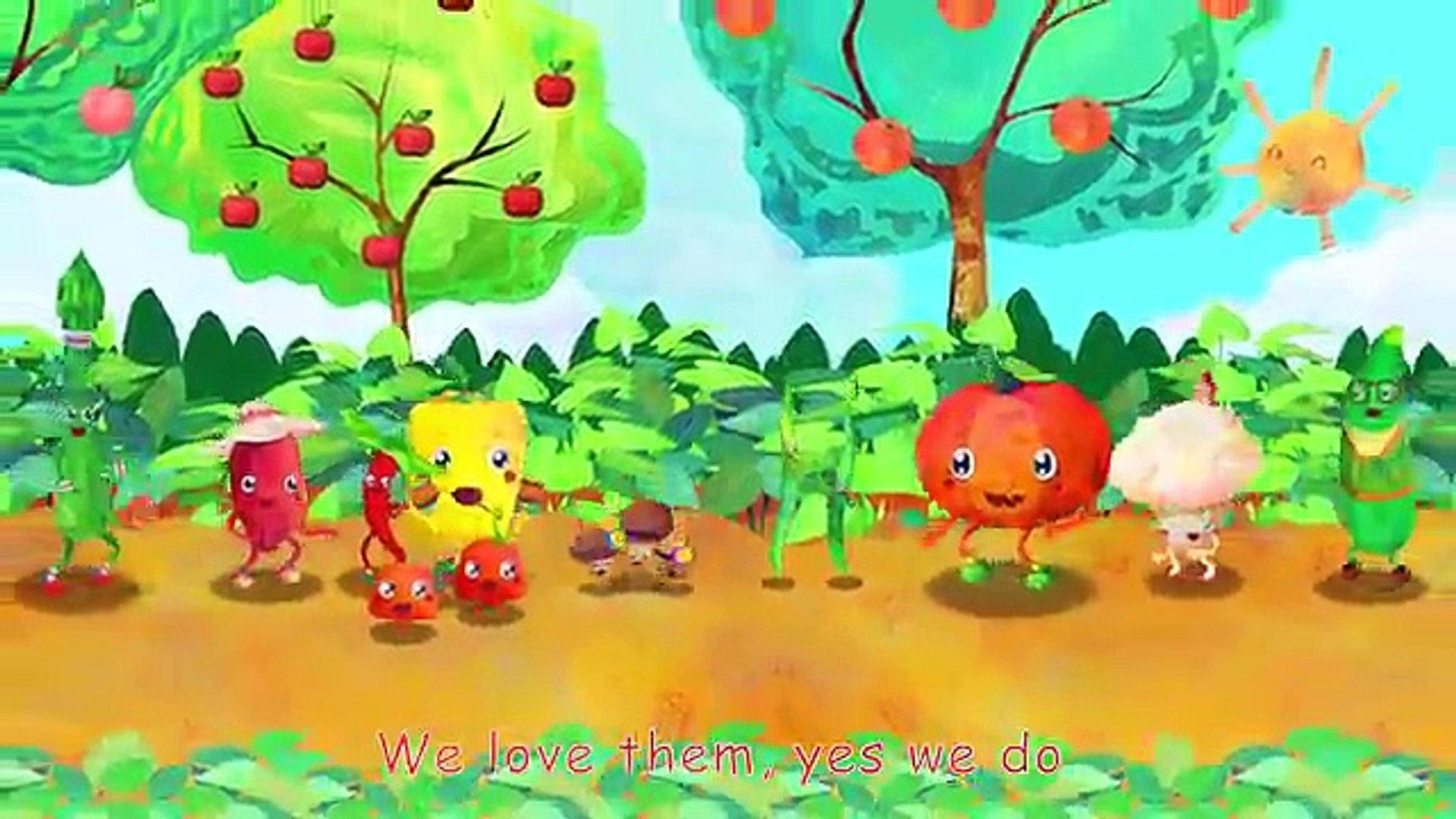 И Дети Подробнее питомник рифмы Песня песни овощи |