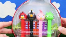 Angry Birds Pig City Strike with Red Bird and Bomb and Bad Piggies Kidnap Chuck in Surpris