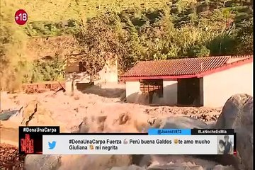 Huarochirí: los daños que dejó el desborde del río Rímac en Cupiche