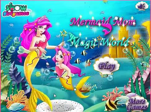 Frozen Games Mermaid Mom Magic Word