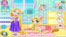 Детка ребенок дисней весело игра Игры девушка Китти Рапунцель запутанный видео