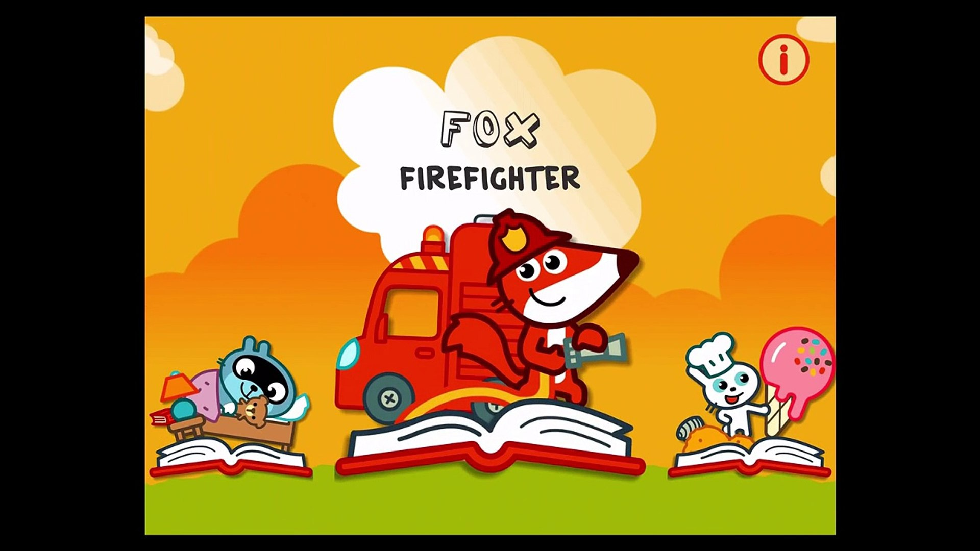 Fun Story Time For Kids | Pango Story Time FOX FIRE FIGHTER FUNNY MOMENTS - Kids Education