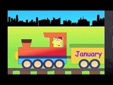Months of the Year Chant | Calendar Learning Song, Childrens Easy English, Daycare Educat