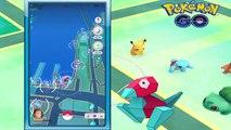 Pokemon Go Legenday Epic Super Rare PORYGON Caught w World Strongest Gym Taking Over