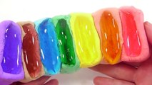 비타민+젤리 몬스터 무지개 액체괴물 만들기!! 흐르는 점토 액괴 클레이 슬라임 장난감 놀이 DIY How To Make Rainbow Slime Toys Ki
