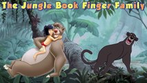 Finger Family Song! Nursery Rhyme Jungle Book Mowgli Bagheera Baloo ToyBox Tube