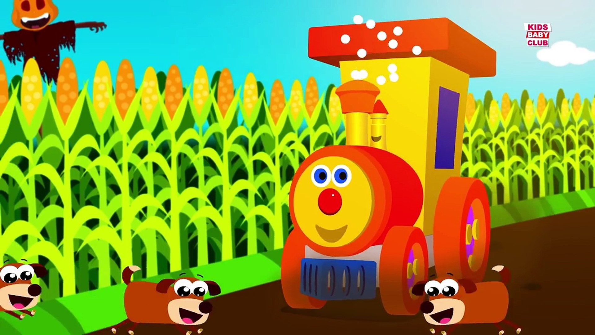 Ben the train and the Jack O Lantern | kids nursery rhymes | Halloween special for childr