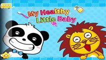 Little Panda Learn Healthy Eating Habits, Personal Hygiene - Baby Panda Fun Game