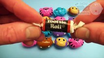 Learn Colours Opening Animal Surprise Eggs! Filled with Candy, Gum and Fun!
