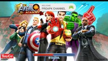 MARVEL Avengers Academy - Gameplay Walkthrough Part 1 - Level 1-3 (iOS, Android)