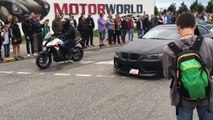 BMW 335i Drift Fail & Crash at Cars & Coffee Böblingen 2016 http://BestDramaTv.Net