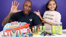 Silly Sausage Toy Challenge Game - Warheads Extreme Sour Candy - Family Fun Games-Nz7v0OF