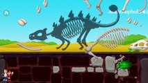 Dinosaur Park 2 Kids Games | Fun Animals Sounds and Animations Game for Children