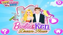 Barbie and Ken Build Their Dream House Before They Get Married - Barbie Games For Children