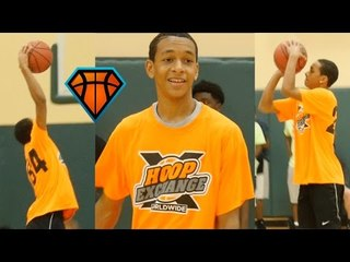 2019 Tre Mann Has Steph Curry-Like Game!! | HoopExchange Spring Showcase Highlights