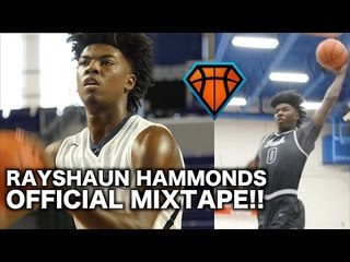 6'8 Rayshaun Hammonds Is Ready To TEAR IT UP In The SEC Next Year!! | Official Senior Mixtape