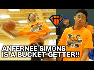 Louisville Commit Anfernee Simons Is a SMOOTH BUCKET GETTER!! | HoopExchange Showcase Highlights