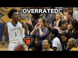 """Collin Sexton Responds To """"OVERRATED"""" Chants With a 40-PIECE!! Full Highlights vs TOUGH Duluth Squad"""