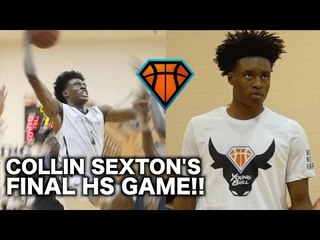 Collin Sexton's Last Game of His High School Career | YoungBull's Full Highlights