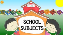 School Subjects Vocabulary - Pattern Practice for ESL and EFL Students - ELF Kids Videos-J0J