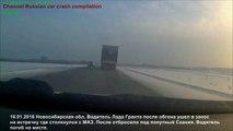 La plupart des accidents de la route choquants horrible accident de voiture russe 2016 année, 25 min compila