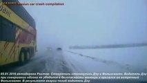 La plupart des accidents de la route choquants horrible accident de voiture russe 2016 année, 25 min com