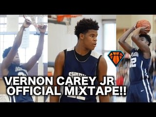 16 Year Old Vernon Carey Jr Is Turning Into An ABSOLUTE MONSTER!! | Official Sophomore Mixtape