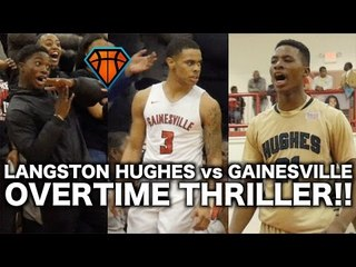 Landers Nolley & Langston Hughes FACE OFF Against Gainesville On The Road!! | INSANE Elite 8 Game