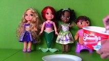 Disney Princess Aurora's Ice Cream Party! _ Toy Review _ Konas2002-o5nUILc