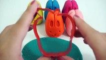 Play Doh Brillo Colección compuesta con Frutas Moldes Creativas y Divertidas para los Niños