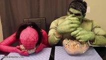 Розовый Человек-паук против Халк против Венома реальной жизни фрути Лупс хлопья удовольствие Супергеройское кино