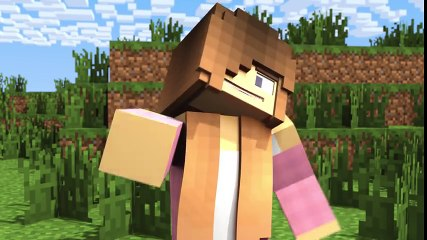 Minecraft vs Real Life_ How to Cut Trees! (Minecraft Animation)